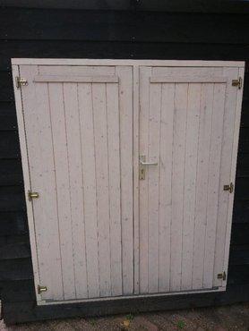 Dubbele deur tbv tuinhuisje