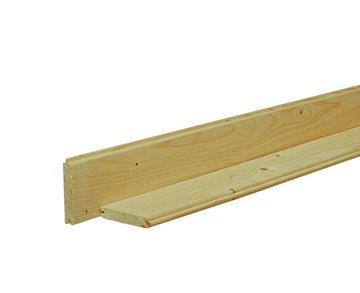 dakbeschot/vloerhout 1,6 x 10cm